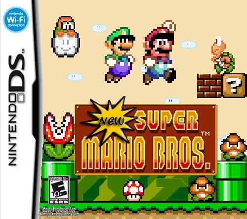new super mario bros ds logo png