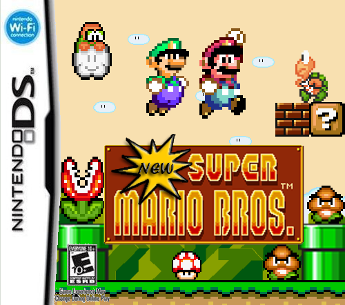 New Super Mario Bros Ds 16 Bit By Jdunning619 On Deviantart