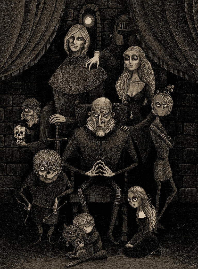 The Lannister Family by bubug