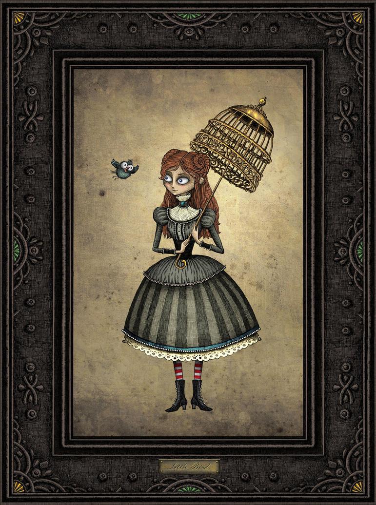 girl by bubug