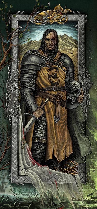 Image result for sandor clegane book art