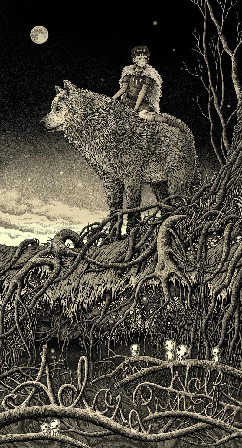 Adora the Wolf Princess by bubug