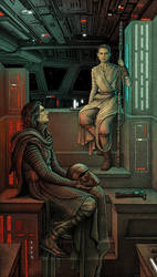 The Knight of Ren and the Scavenger Girl