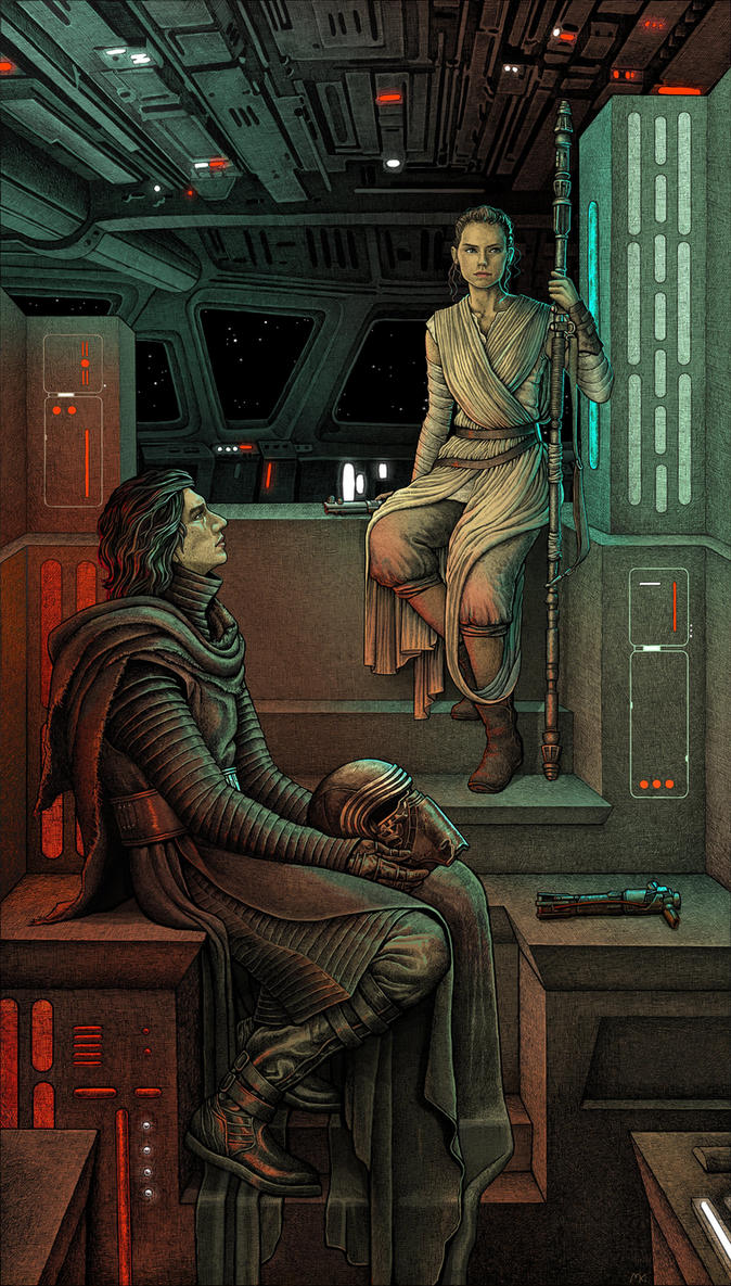 The Knight of Ren and the Scavenger Girl by bubug