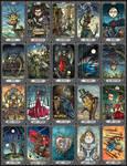 The Dark Mansion Tarot by bubug