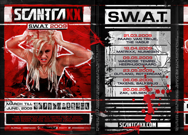 Scantraxx S.W.A.T. Ad by ruudvaneijk