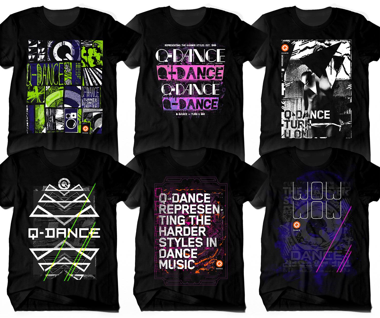 Shirt design wallpaper -  Q Dance Shirts 2011 By Ruudvaneijk