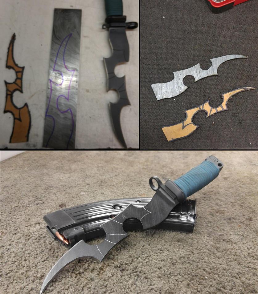 Blade Progress by AgentAppleblanket