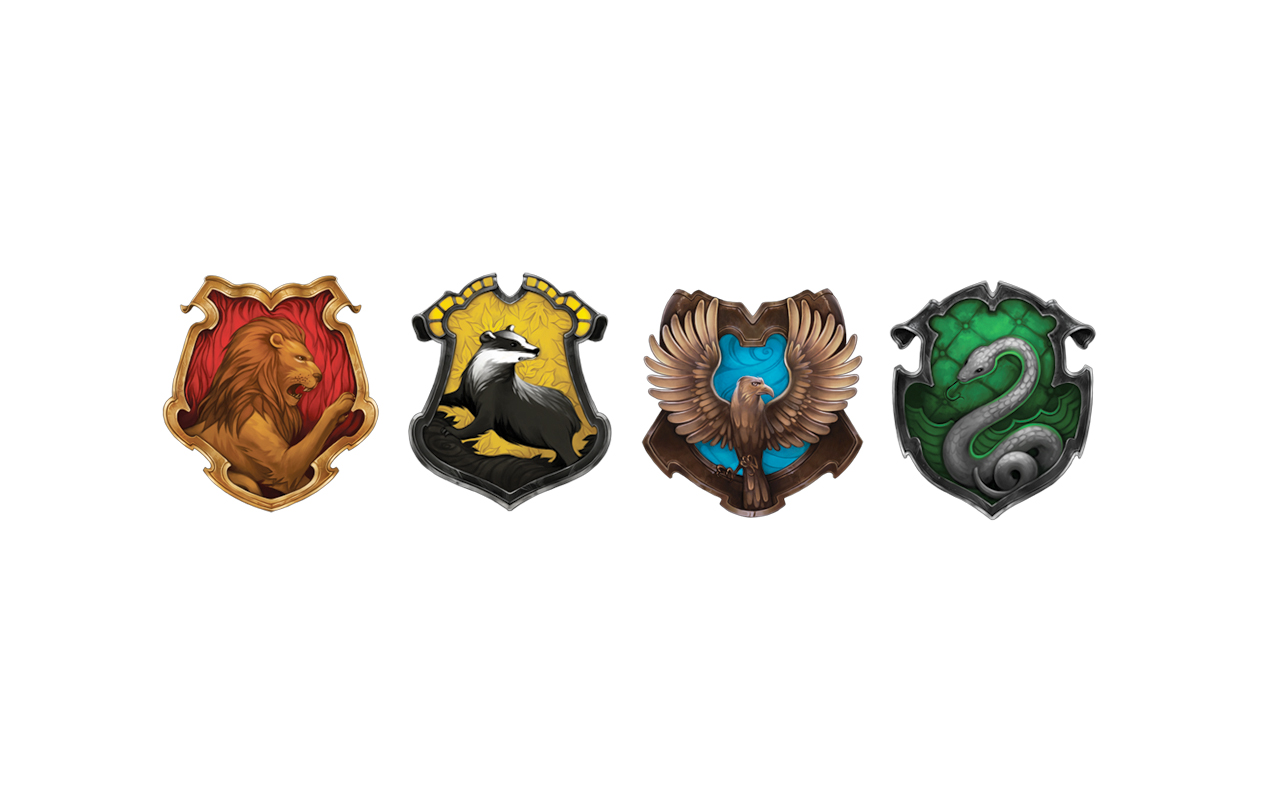 Four Crests Harry Potter Wallpaper By Juracell On Deviantart