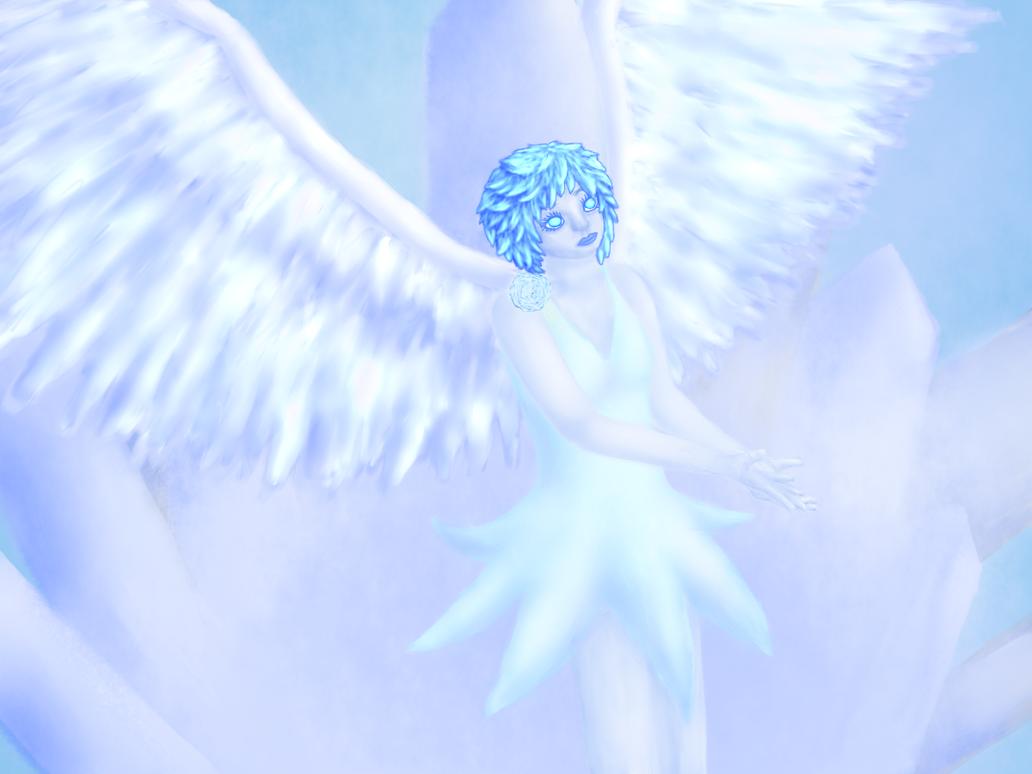 Angel of Ice by zerori...