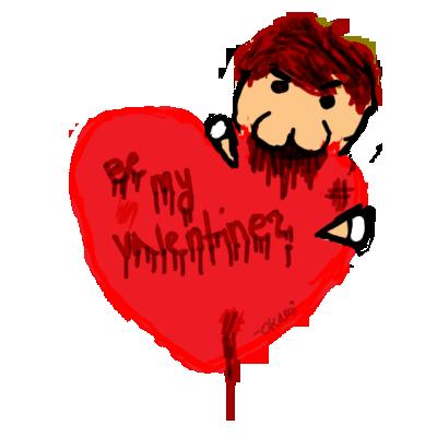 Soyez Mon Valentine? by Okamirami