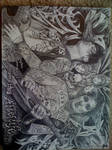 Zacky V. and Syn Gates of A7X by Jonny5nLala
