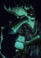 League of Legends : Thresh Fanart by JasonCSY