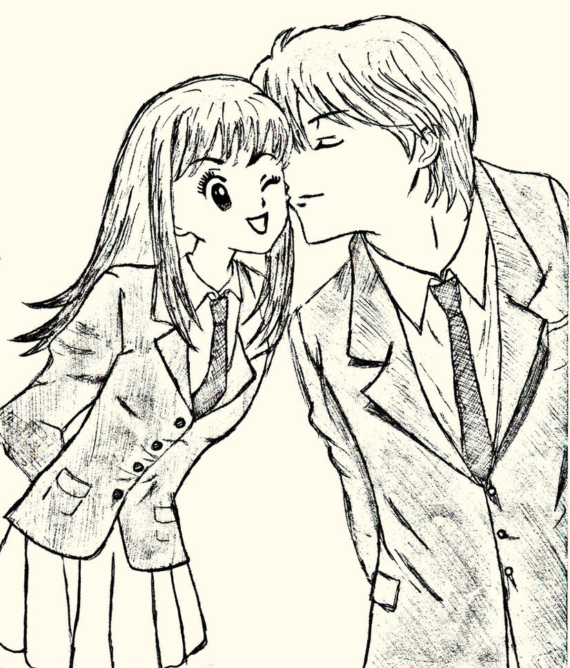 Itazura Na Kiss: Kotoko And Naoki By RonieScarlett On