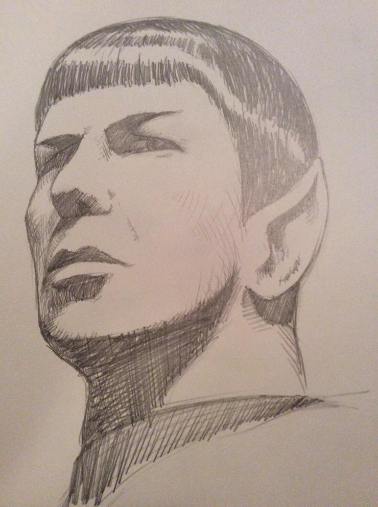 Spock, RIP by JeremyWDunn