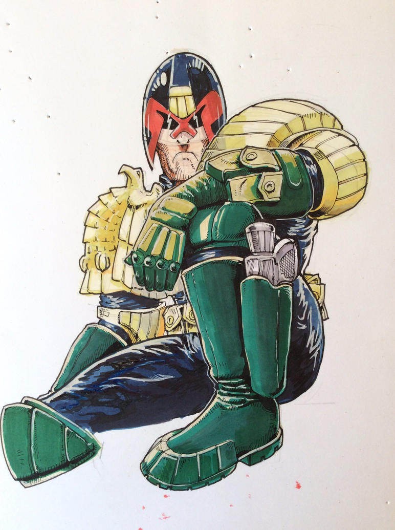 Judge Dredd by JeremyWDunn