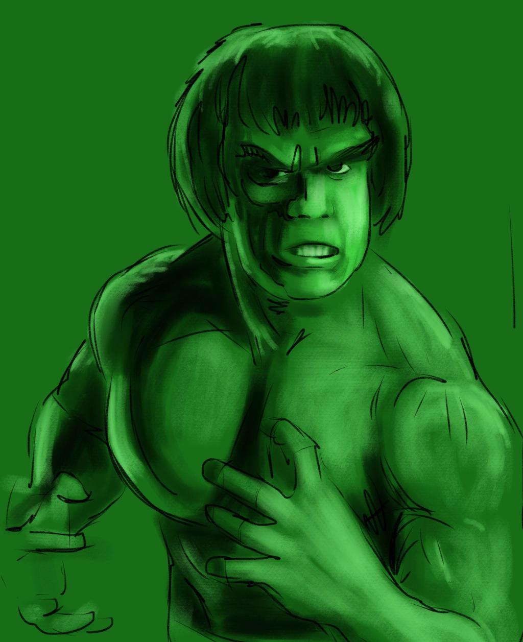 TV Hulk by JeremyWDunn