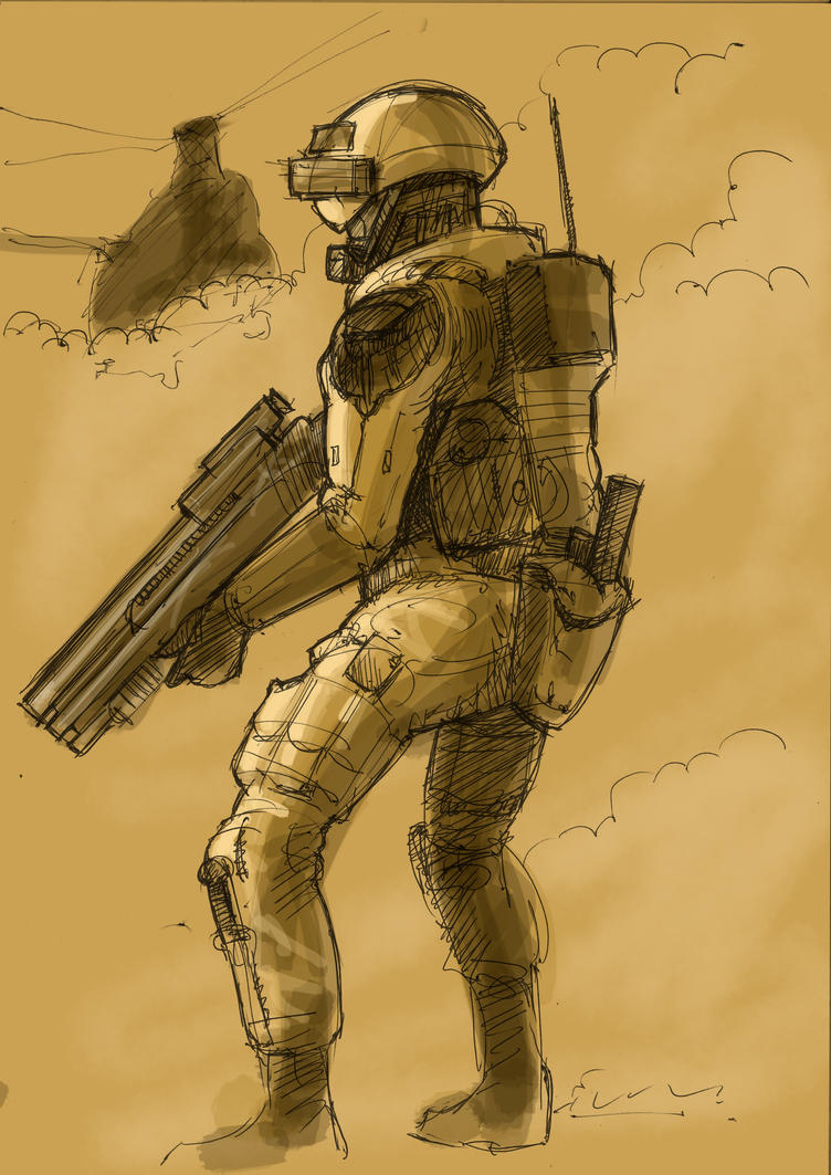 Future soldier by JeremyWDunn