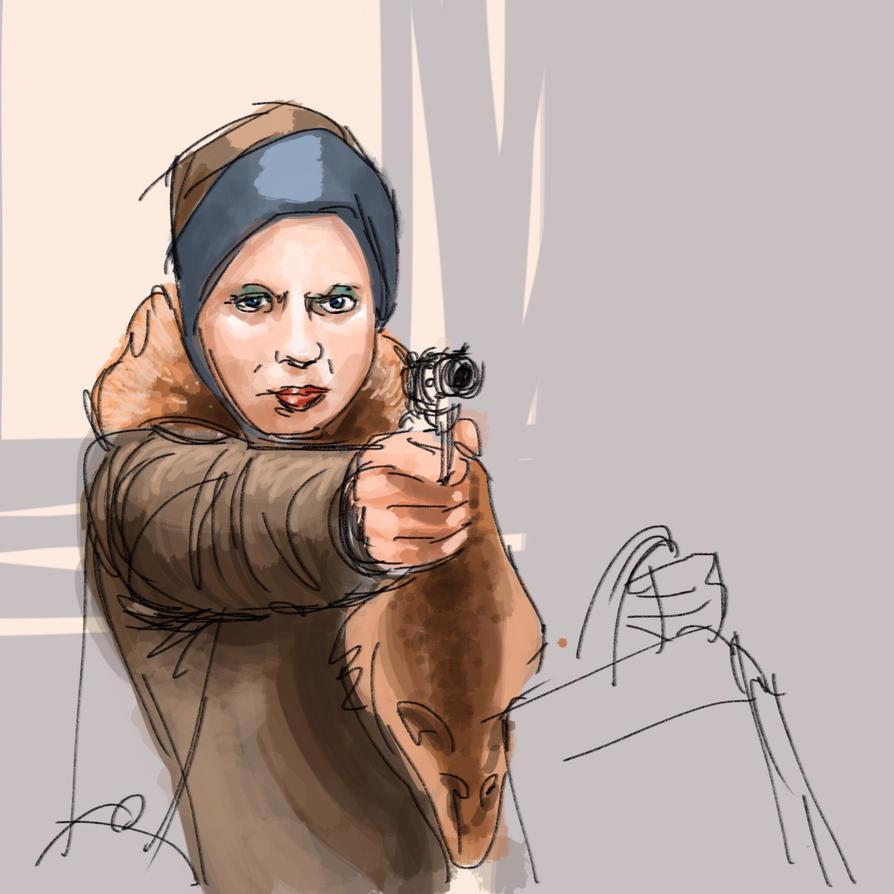 Gangster Moll by JeremyWDunn
