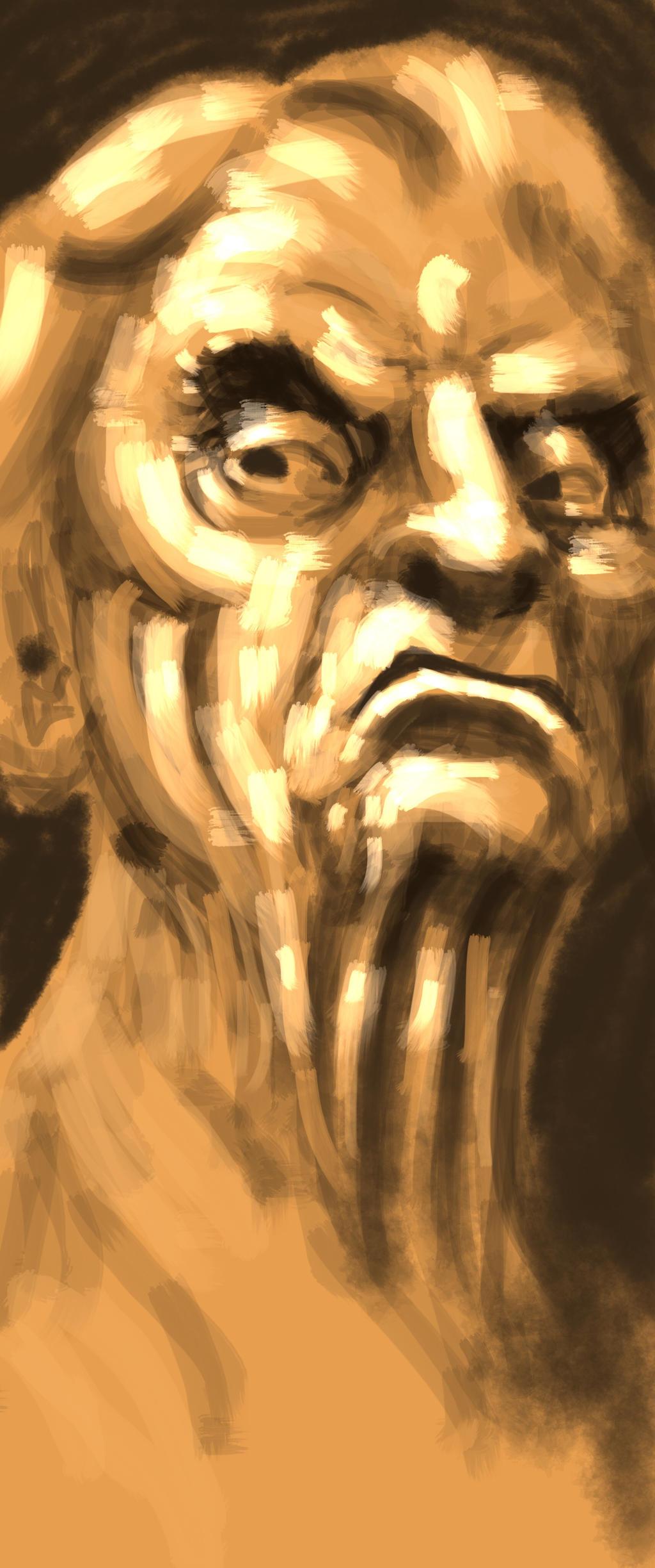 Old man by JeremyWDunn