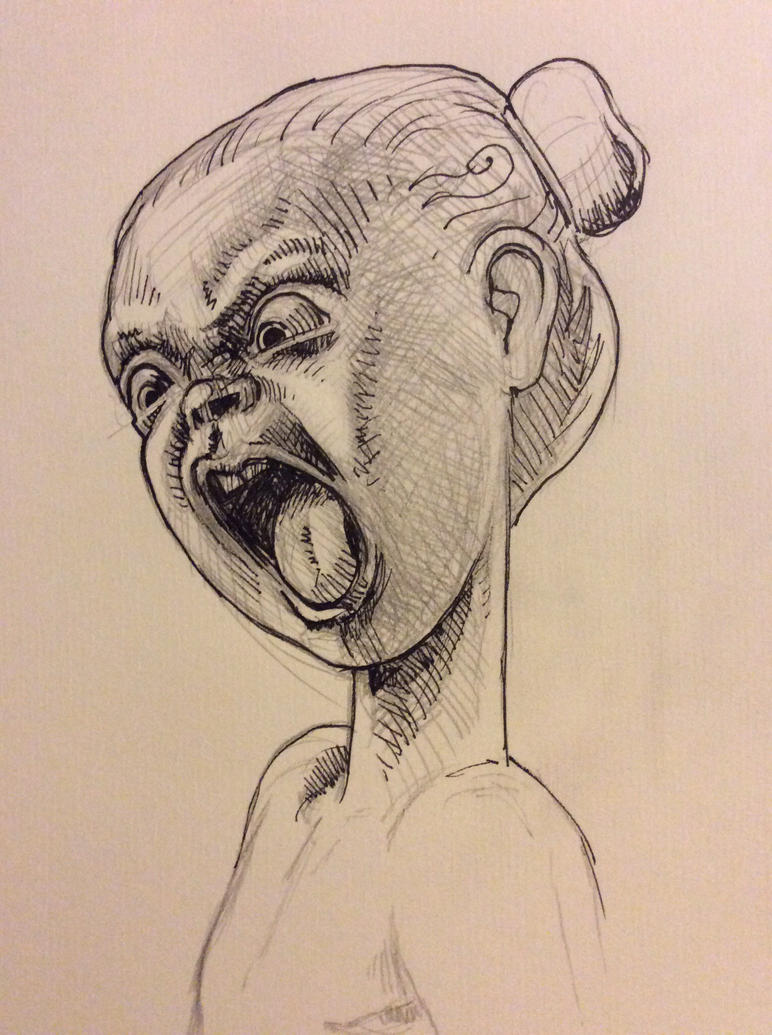 Objectionable child by JeremyWDunn