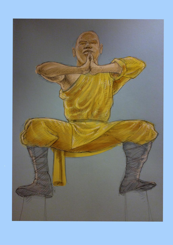 Shaolin Monk by JeremyWDunn