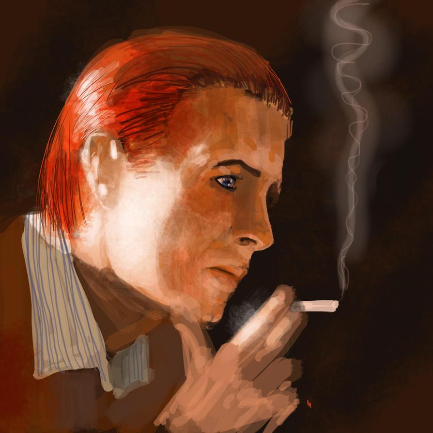 Bowie by JeremyWDunn