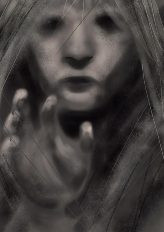Eerie girl by JeremyWDunn