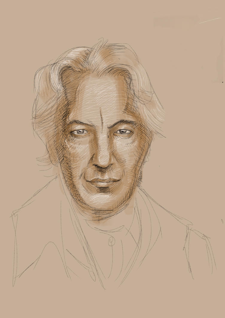 Alan Rickman by JeremyWDunn