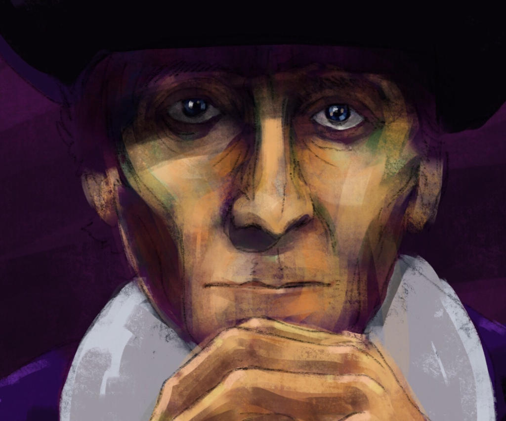 Peter Cushing as Gustav Weil in Twins of Evil by JeremyWDunn