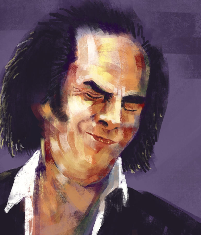 Nick Cave by JeremyWDunn