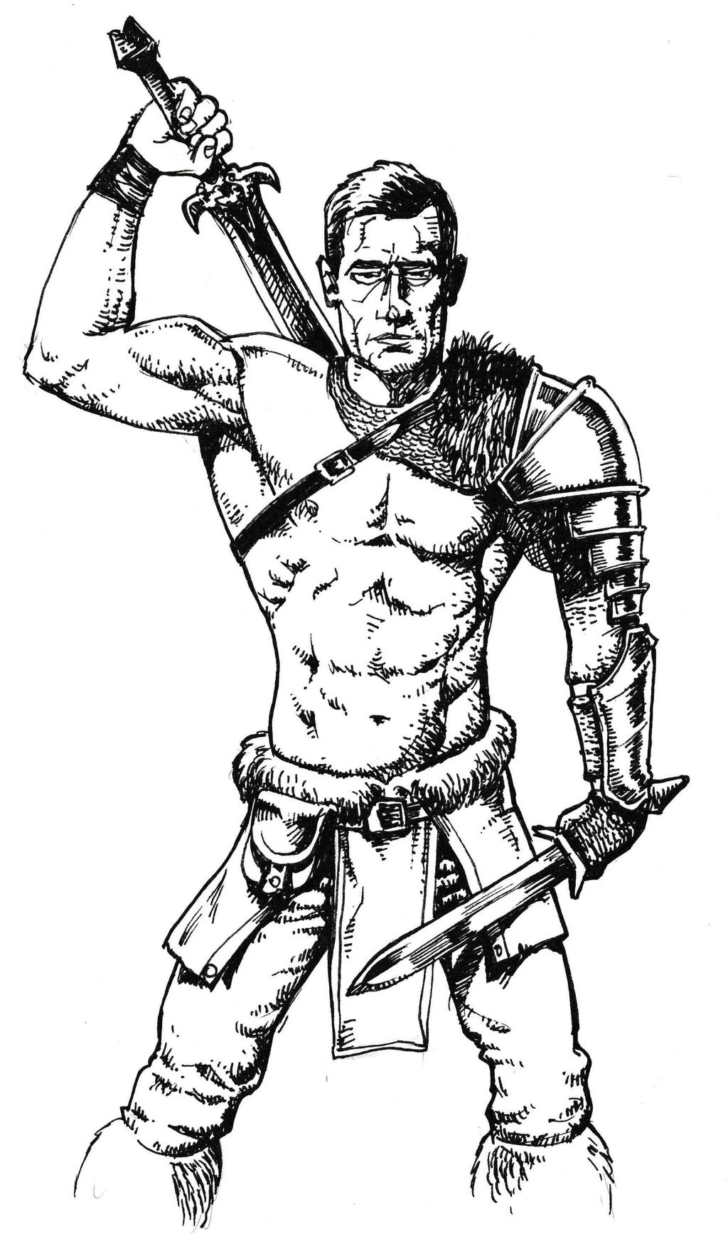 Warrior by JeremyWDunn