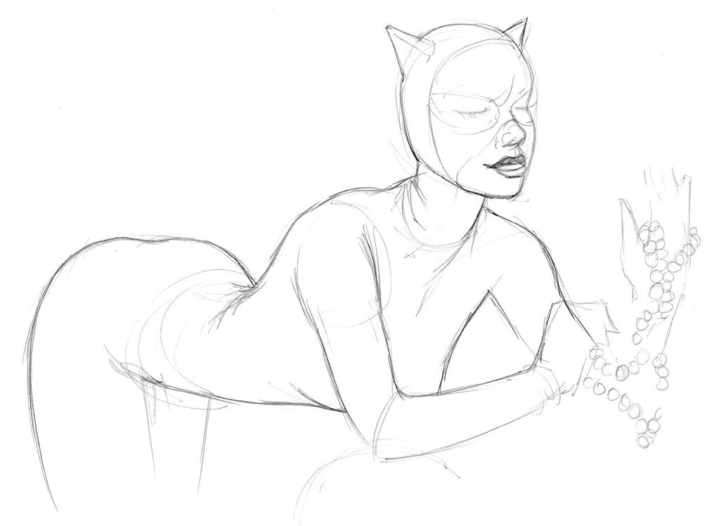 Catwoman by JeremyWDunn