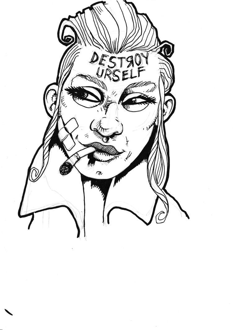 Tank girl by JeremyWDunn