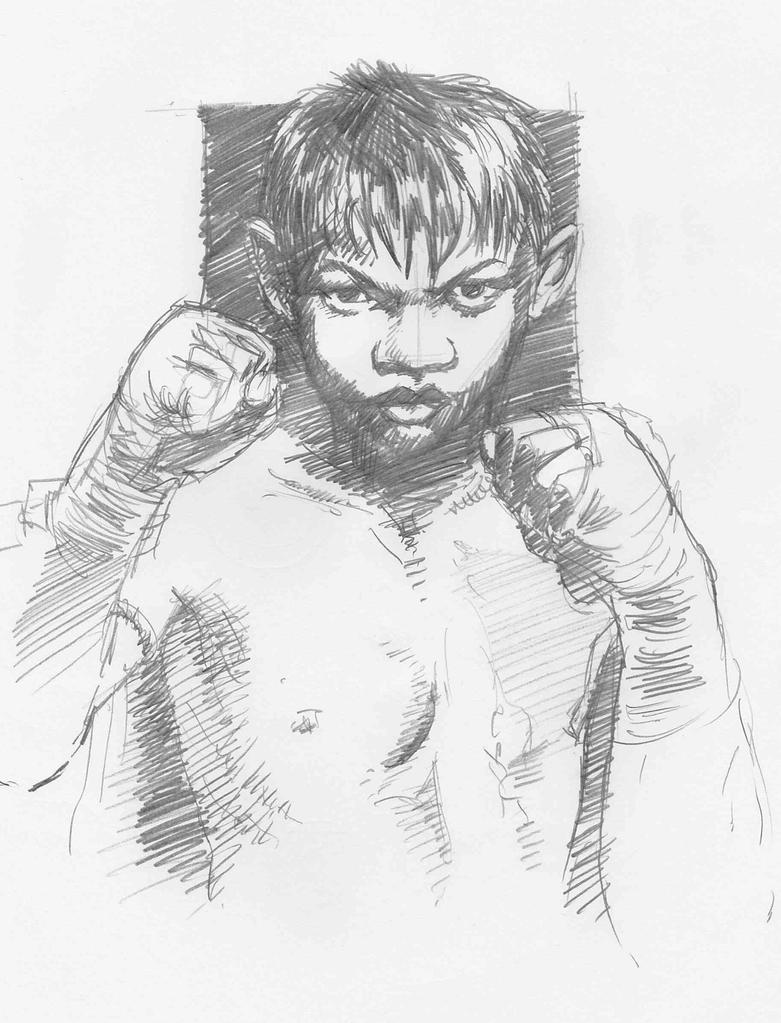 Muay Thai by JeremyWDunn