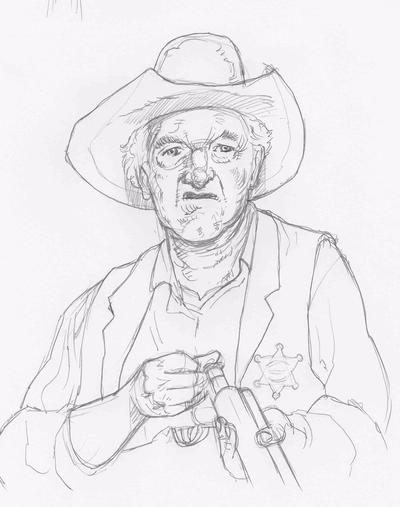 Old Sheriff  by JeremyWDunn