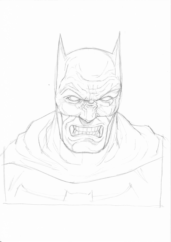 Batman linework by JeremyWDunn