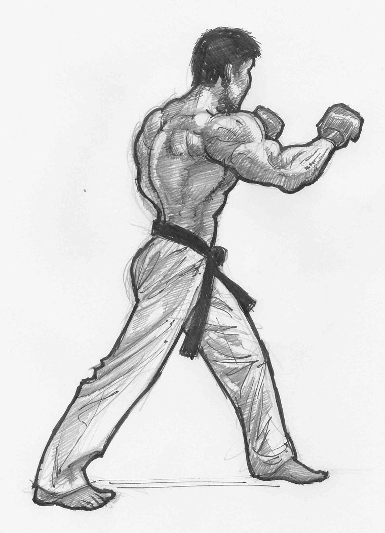 Karate by JeremyWDunn