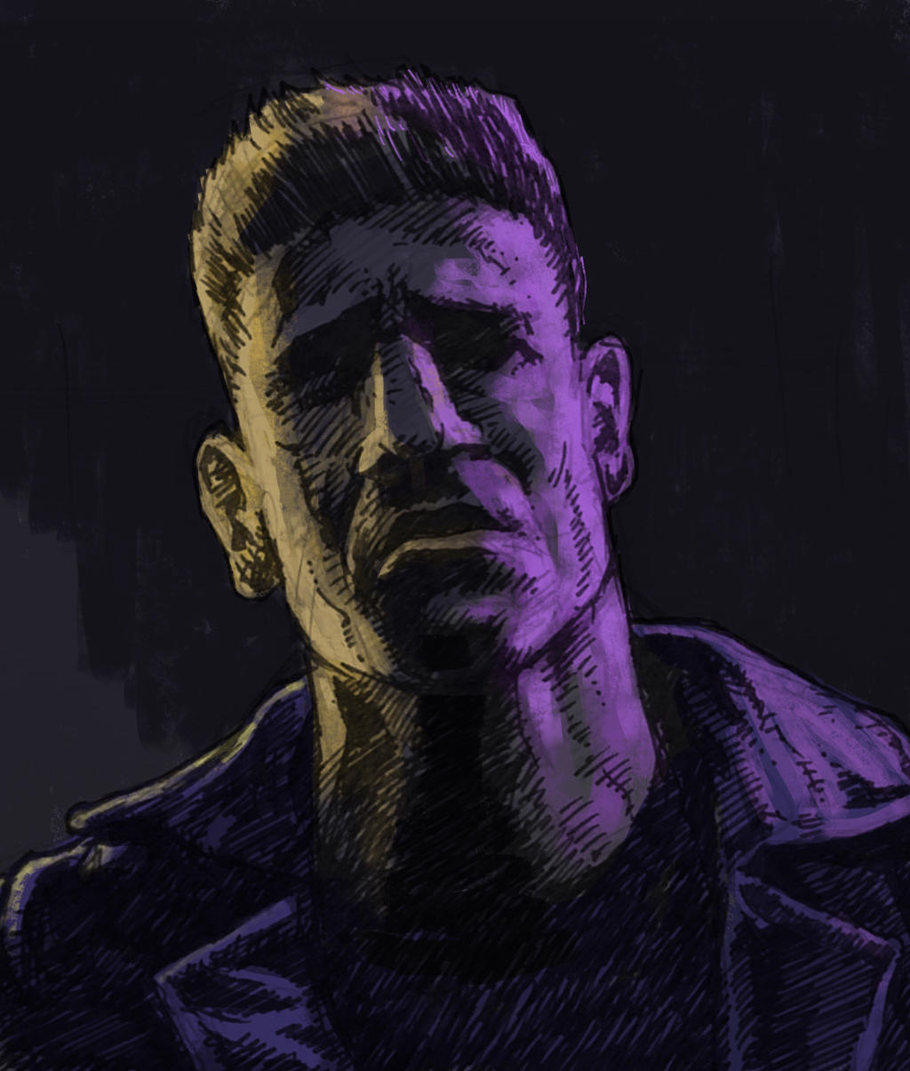 Punisher Netflix Jon Bernthal Marvel comics by JeremyWDunn