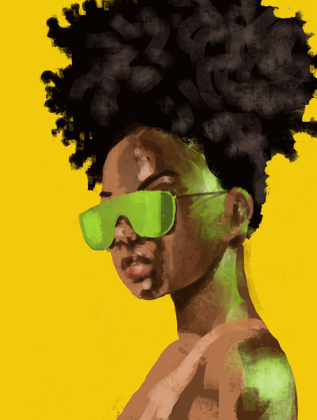 Green glow by JeremyWDunn