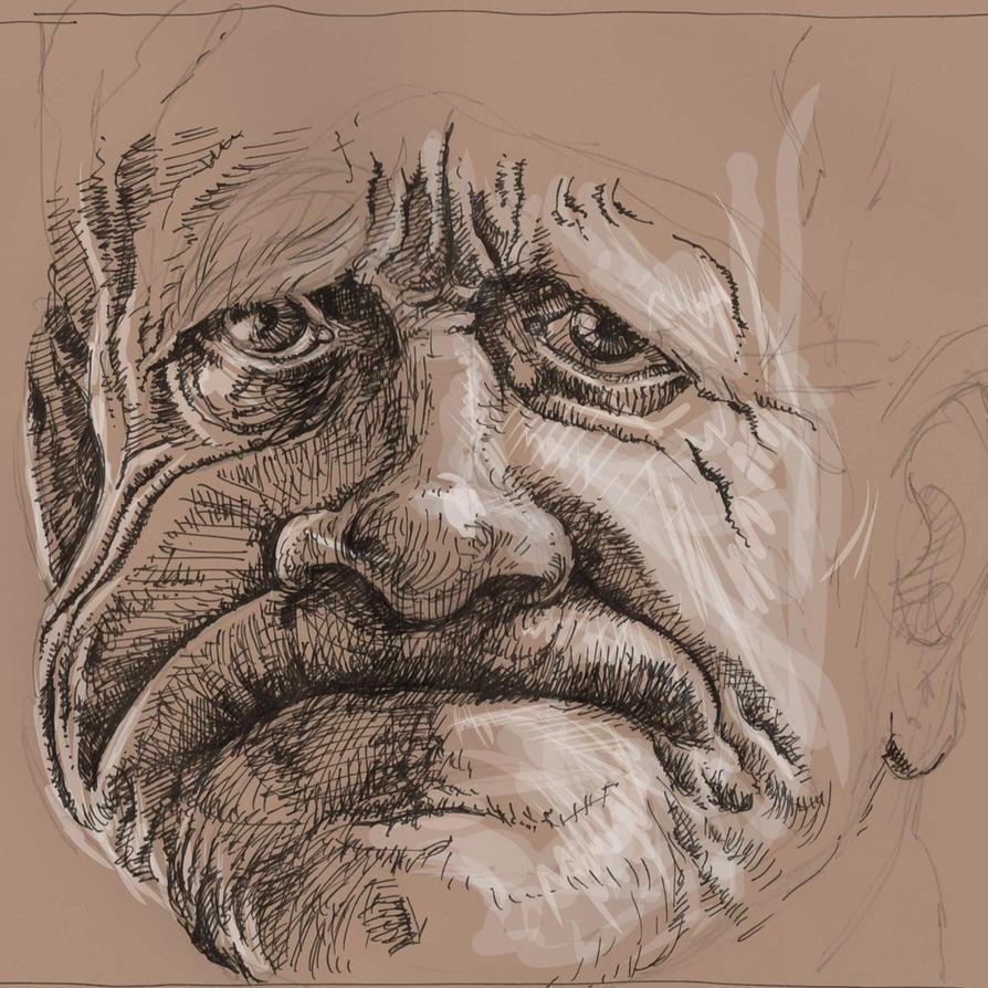 Old fella by JeremyWDunn
