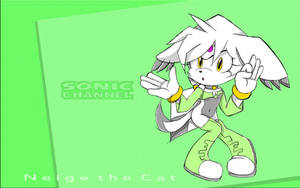 .:Sonic Channel Sketch:. Neige by m1tchi3Du5k