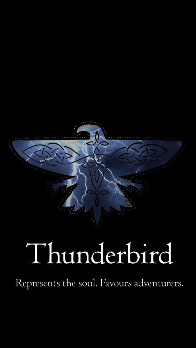 Harry Potter Ilvermorny Thunderbird house patch