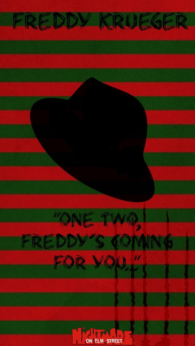Freddy Krueger poster by ClarkArts24
