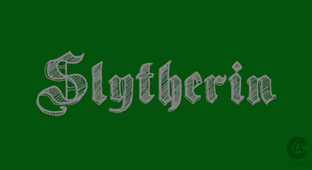 Slytherin Computer Wallpaper By Clarkarts24 On Deviantart