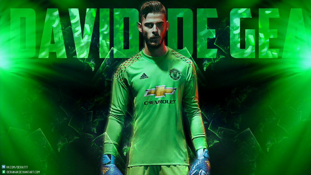 David De Gea Manchester United(Spain) Wallpaper By