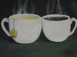 Tea and Coffee by CurrentlyLoading