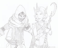 League of Legends - Malzahar and Soraka by CurrentlyLoading
