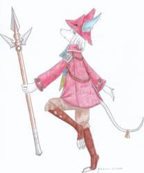 Final Fantasy IX - Freya by CurrentlyLoading