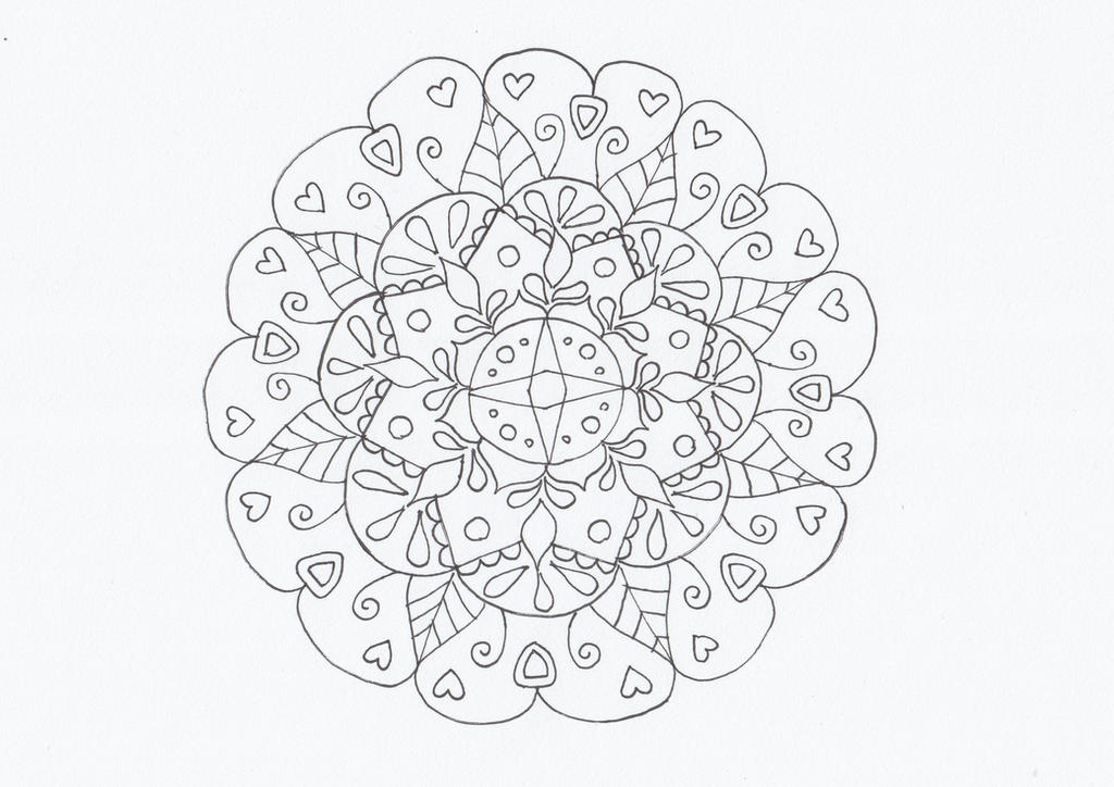 Smaller mandala by CurrentlyLoading